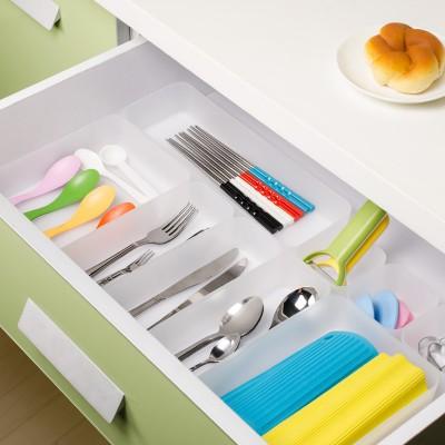 Fashion PP DIY drawer makeup style storage box (M)(China (Mainland))
