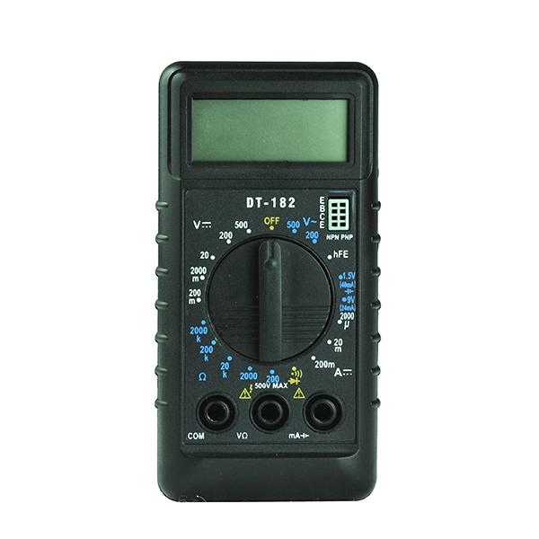 Мультиметр SUPERBATRF DT182 DMM LCD TOOL081-182DT  мультиметр defort dmm 1000n