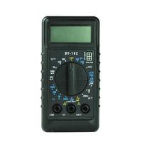 DT182 Pocket Mini DMM LCD Digital Multimeter with Beeper OHM Volt Current Battery Test Voltmeter Ammeter Ohmmeter wtih Probe