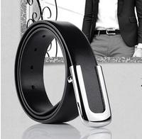 Promotion Brand men belts Genuine cowskin luxury leather Designer fashion male  Male Strap Black/Brown Free Shipping MB0408N