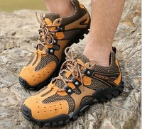 The new Casual Net low-cut hiking shoes outdoor climbing shoes men 's shoes outdoors men's V bottom skid