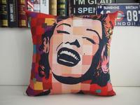 "Brand New Mosaic Monroe Pop Bar Throw Pillow Case Home Decor Cushion Cover Square 18"" 45cm"