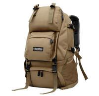 2015Fashion Outdoor 45L Waterproof Nylon Large Backpacks Men's Camping Hiking Bag Women Travel Bag Day Shoulder Bag Mochila 820e