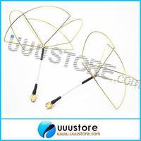 2pcs 1.2GHz Clover Leaf Antenna Circular Polarized SMA male for 1.2Ghz 1.3Ghz TX RX Set Free shiping
