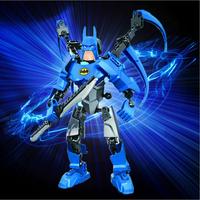 2015 hot Batman Action Figure Classic Toys Anime Figure Cartoon Boy Toy Children's educational building blocks can be assembled