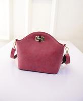 2015 new fashion Nubuck PU fashion small messenger bag Korean style shell women handbags