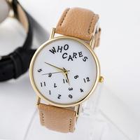 Newest Fashion watch for women PU leather strap quartz watch ladies watches wrist watch women dress watches casual Clock JL032