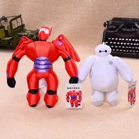 Two Pcs/lot 20CM-26CM Big Hero 6 Baymax Robot Stuffed Plush Toys Children Toys Brinquedos Dolls & Stuffed Toys Baby