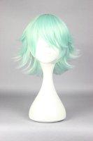 YURI KUMA ARASHI Life Beauty  COSPLAY WIG LIGHT GREEN SHORT WIG  30CM LONG FASHION HAIRTUME LOLITA WIG