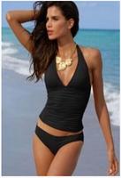 New sexy Bikinis Set  women swimsuit Bathing Suit in black
