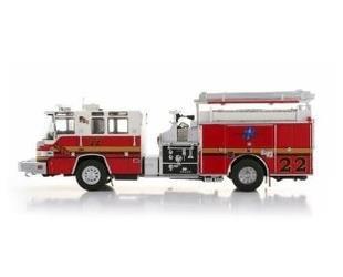"AceCool \Pierce Quantum fire engines , "" Seminole County # 22"" 1/50 fire truck model(China (Mainland))"