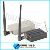FPVOK 1.2Ghz 5W Wireless AV Transmitter with 1.2G Receiver High Gain Antenna