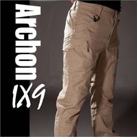 Outdoor Function Multi-pocket IX9 Archon Tactical Cargo Pants Male Casual Military Training Pants Trousers