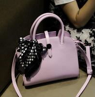 Macarons color scarf 2014 single shoulder bag handbag AD2418 simple European fashion lady