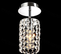 2015 Free Shipping Modern Crystal Chandelier Lamp Lustre with Top K9 Crystal String , Size D100*H230mm (GRC-P01N)