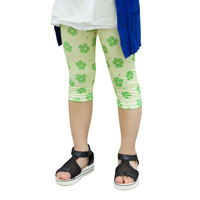 Pls buy any 2pcs in shop 2015  summer girls leggings children pants child trousers seventh flower legging