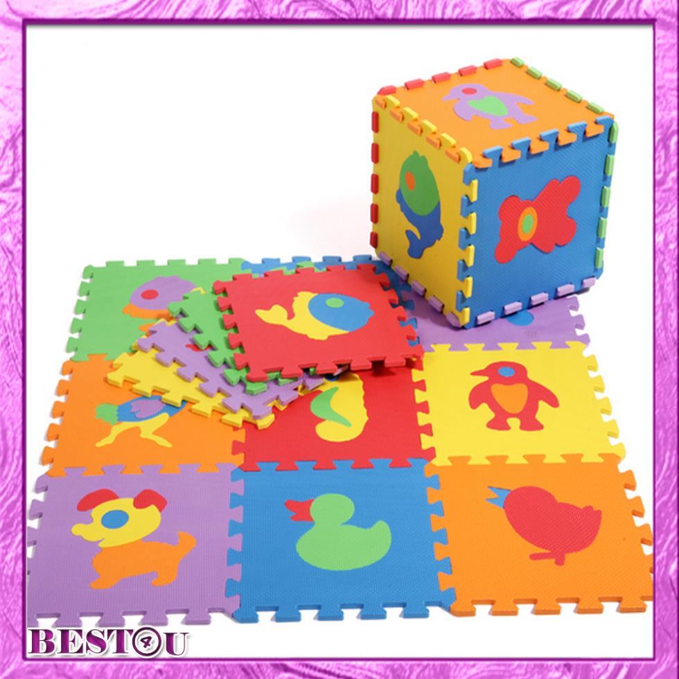 NEW! Baby floor mats EVA Animals floor pad foam crawling mat kids play mats Children jigsaw puzzle pads(China (Mainland))