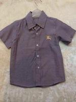 New Fashion Brand Boy's Summer Shirts/Baby Boy's Cotton Short Sleeve Blouse/Children's Summer Outerwear/Shirt/Blouse