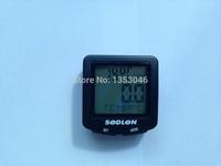 2pcs Waterproof Digital Backlight Noctilucent Bicycle Computer Odometer Bike Speedometer SDL-571