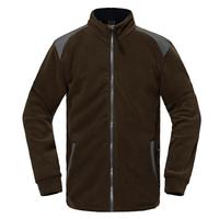 IKAI Hot Sale Men Soft Shell Coat Outdoor Sports Jacket Windstopper Patchwork Clothing Men's Mandarin Collar Jackets HMJ0035-5