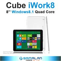 "8"" Cube iWork8 iWork 8 Super Edition Intel Baytrail-T 64 bit Quad Core Windows8.1 Tablet PC 2GB RAM 32GB ROM Dual Camera"