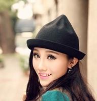 2015 fashion faux wool felt hat cheap children hat