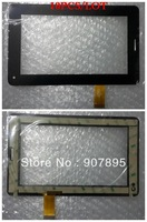 "10PCS 7"" 7inch HK70DR2023 F20130418 capacitor touch screen capacitance screen glass screen For Tablet"