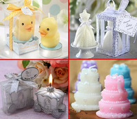Free shipping Creative fashion wedding candle rose ball wedding decoration home decoration wedding gift candles