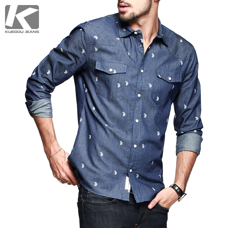 Direct selling top fashion casual shirts full blusas men shirt brand