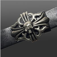belt 2015 Cowhide luxury Male leisure belt PP Punk style buckle.100% Genuine leather for men Formal Belts