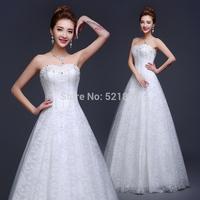 vestidos de noiva lace wedding dress new 2015 crystal wedding dresses sexy vestido de noiva fashionable robe de mariage 745