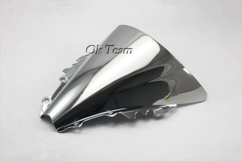 Ветровое стекло для мотоцикла YZF 600 2006-2007 Silver 600 YZF R6 2006/2007 YZF/R6 06/07 тормозные огни для мотоциклов yzf600 yzf 600 2006 2007
