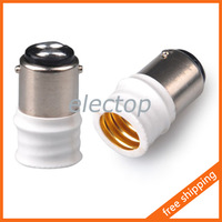 BA15D To E14 Lamp Holder Adapter Base Socket Converter for Light Bulb 5pcs/lot Wholesale