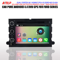 "7"" HD 1024*600 pure Android 4.4.2 Car DVD GPS For Ford Mustang Expedition Explorer RADIO AM FM SD 3G WiFi OBD DVR BT FREE 8G MAP"