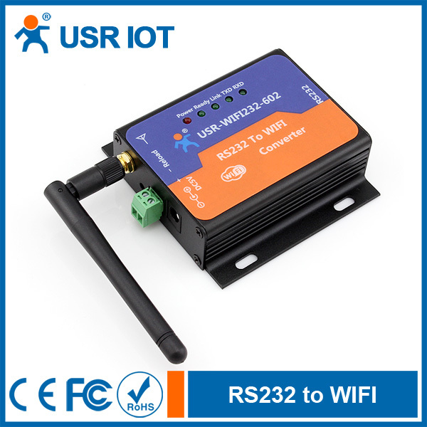 (USR-WIFI232-602) WIFI to RS232 Converter with Android/IOS demo(China (Mainland))