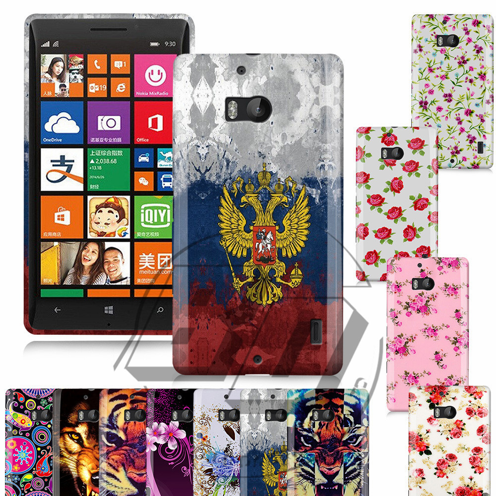 For Nokia Lumia 930 1 Pcs/lot Soft Butterfly Flower Design Cell Phones Case Cover Skin(China (Mainland))