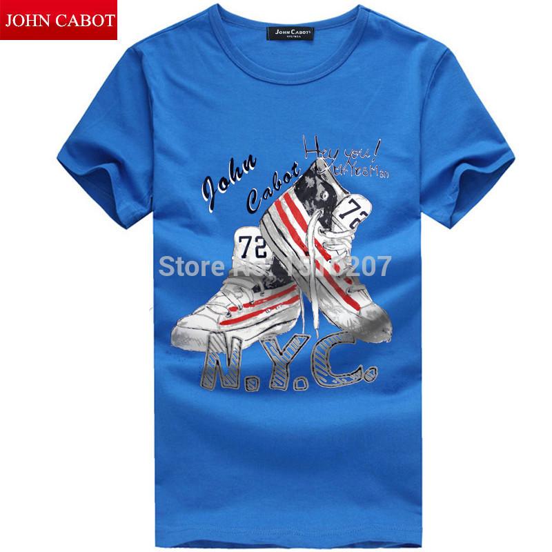 Мужская футболка JOHN CABOT O T T 2015 T мужская футболка bigbang zhilong t 2015 o