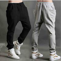 3 Color Brand Jogger Dance Baggy Harem Pants Men Sportwears Joggers Mens Trousers Soccer Traning Running Men Sport Sweatpants