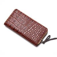 BRIGGS 2015 Designer Wallets Famous Brand Women Wallet  Vintage Alligator PU Leather Purse For Women pj0009