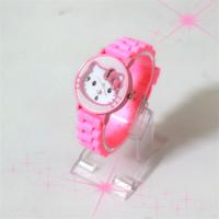 Sale New Fashion Brand Hello Kitty Women Quartz Watch Kids Children Cartoon Silicone Sport Watches Gift Relogio masculino