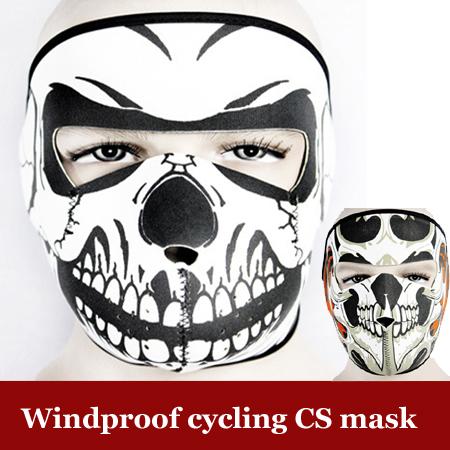 Fashion Ghost Skull Extinction Face Mask Cosplay Balaclava Ski Motorcycle Paintball Game CS Cycling Tactical Training Mask 0004(China (Mainland))