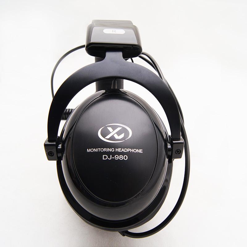 Top qualidade bests estúdio Stereo Monitor de fone de ouvido DJ Headphone Headphones estúdio para Rock POP jogo de PC grátis frete(China (Mainland))