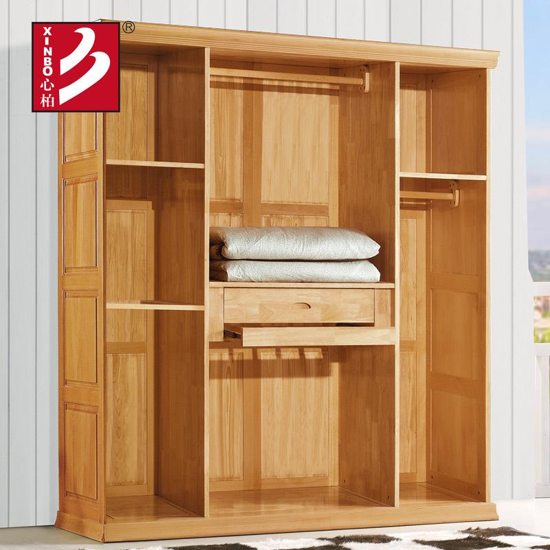 Achetez en gros armoires garde robe en bois en ligne des grossistes armoires garde robe en for Penderie moderne