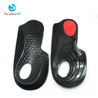 SOFT GEL Flat feet X / O  shape Leg Correction Arch Support Orthotic Orthopedic insoles Shoe Pad (L / M S Size for chose)