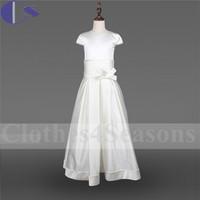 Graceful Design Fantasia Vestido De Comunion Designer Flower Girl Gown Girl First Communion Flower Girl Holy Communion Dress
