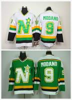 Dallas Stars Jerseys 9 Mike Modano Cheap Hockey Jersey Stitched and Sewn