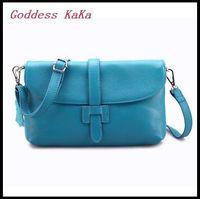 Women Messenger bag Genuine Leather 2015 New arrival Korean Lady Shoulder bag Level cowhide Crossbody bag bolsas feminina HD028