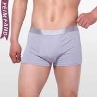 Free shipping Bamboo fibre male panties male trunk u plus size the boys boxer shorts cotton 100% cotton modal soft