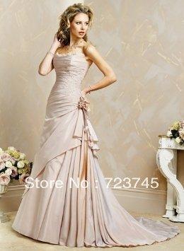 brand wedding dress altered Fall Winter Wedding Dress Gown custom size wedding dresses wedding dress(China (Mainland))