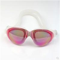2015 anti-fog mirrored Adjustable Eyeglasses men women unisex coating swimming glasses adult goggles  MW452
